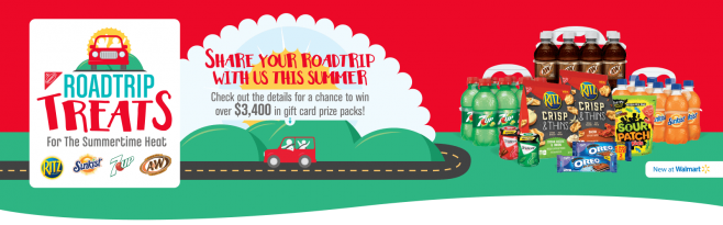 Nabisco Road Trip Treats Sweepstakes