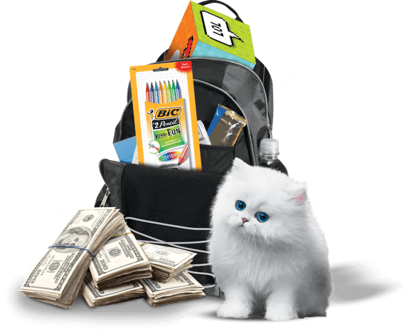 Scotties Ready Set School Sweepstakes Prize Package