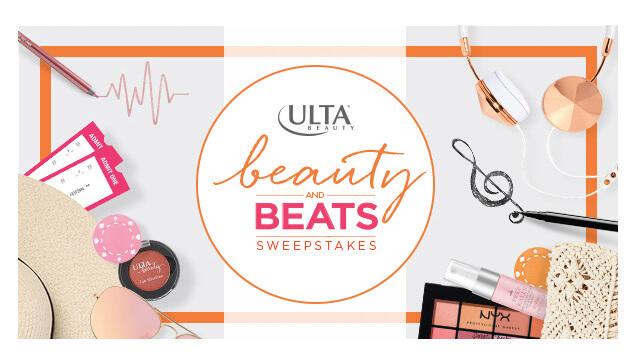 Ulta Beauty and Beats Sweepstakes