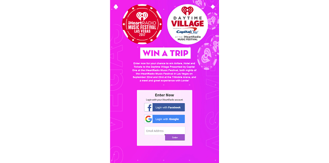 iHeart Radio Listen to Lorde Radio to meet Lorde Sweepstakes