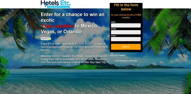 HotelsEtc.com Vacation Giveaway
