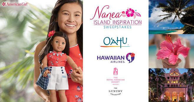 American Girl Nanea Island Inspiration Sweepstakes