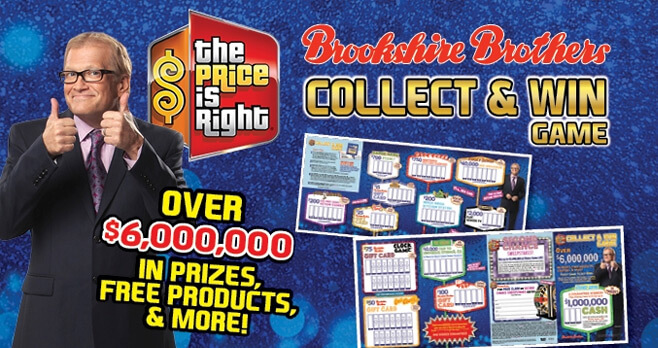 Brookshire Brothers Price is Right Sweepstakes