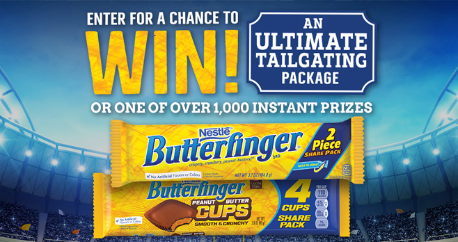 Butterfinger College Sweepstakes & Instant Win Game