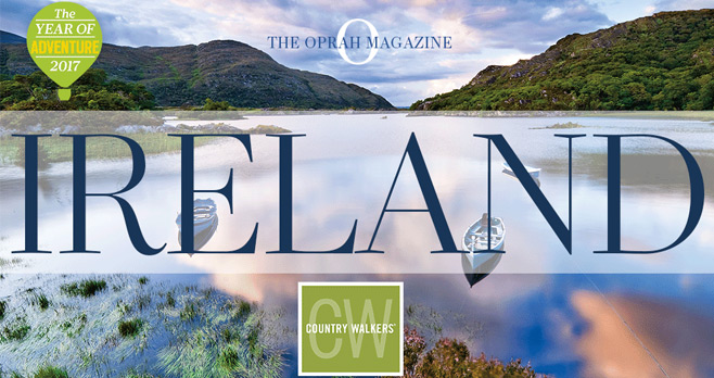 Oprah Magazine Country Walkers Ireland Sweepstakes