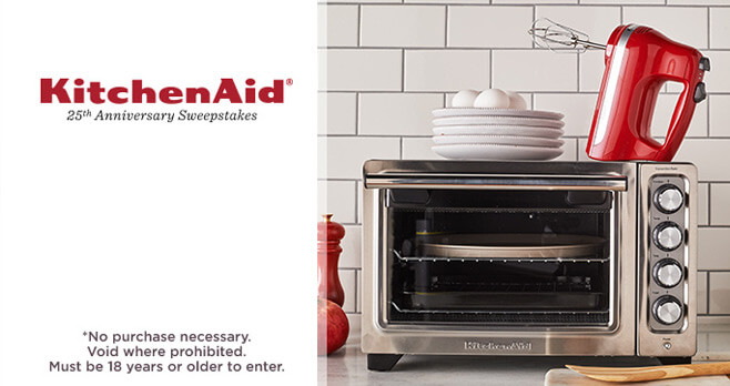 QVC KitchenAid 25th Anniversary Sweepstakes