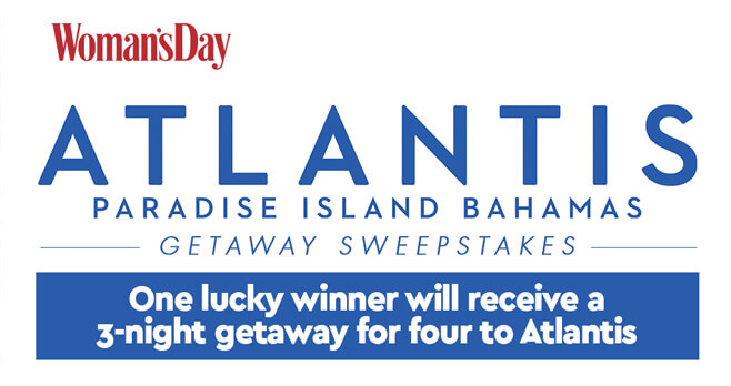 Woman's Day Atlantis Getaway Sweepstakes