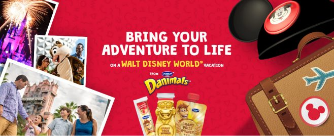 Dannon Danimals Golden Bongo Sweepstakes