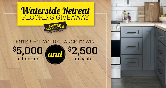 DIY Network Waterside Retreat Flooring Giveaway