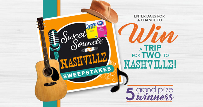 Domino/C&H Sugar Sweet Sounds of Nashville Sweepstakes