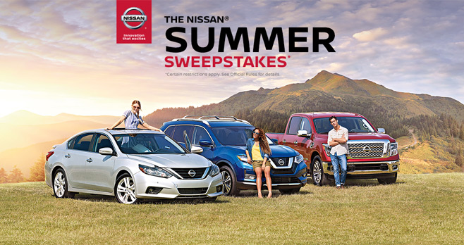 Nissan Summer Sweepstakes 2017