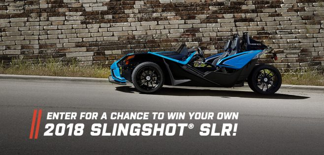 Polaris Slingshot Sweepstakes