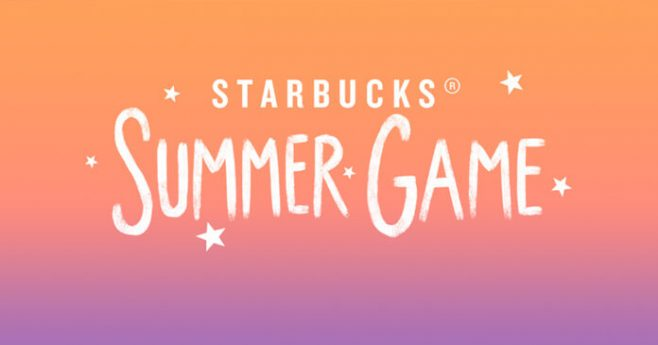 Starbucks Summer Game 2017
