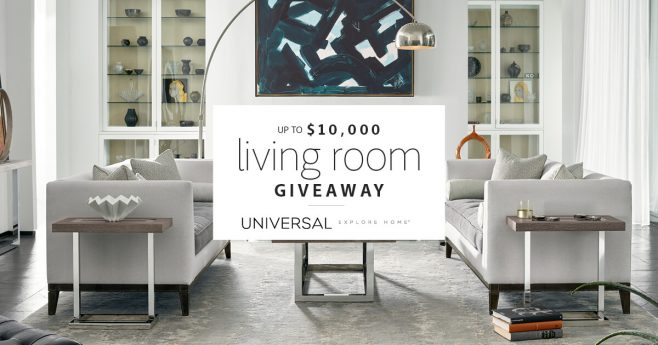 Universal Furniture $10,000 Living Room Giveaway