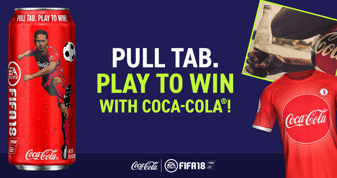Coca-Cola and 7-Eleven EA SPORTS FIFA 18 Instant Win Game