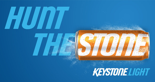 Keystone Light Orange Stone Hunt Sweepstakes 2017