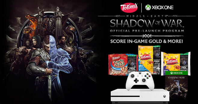 Totino's Middle-Earth Shadow of War Sweepstakes