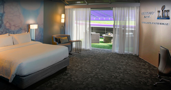 Courtyard Marriott Super Bowl 51 Sweepstakes