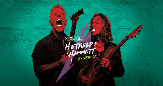 Ernie Ball Hetfield + Hammett Experience Sweepstakes