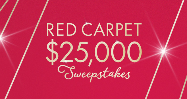QVC Red Carpet Sweepstakes 2017