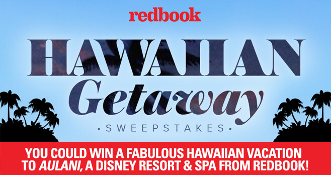 Redbook Girlfriends' Hawaiian Getaway Sweepstakes