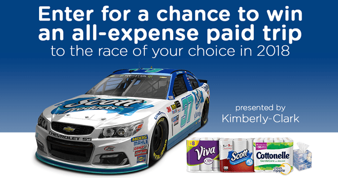 Amazon and Kimberly-Clark Off To The Races Sweepstakes