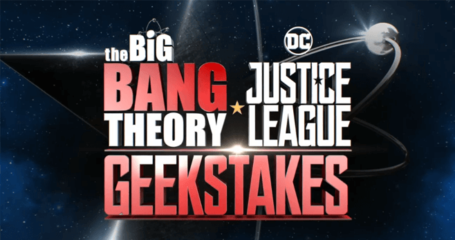 Big Bang Theory Justice League GEEKStakes Sweepstakes