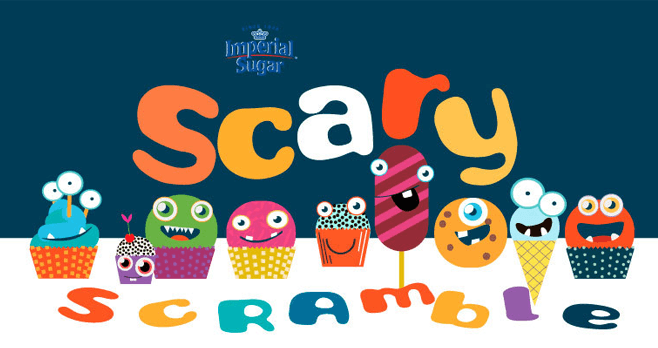 Imperial Sugar and Dixie Crystals Scary Scramble Contest 2017