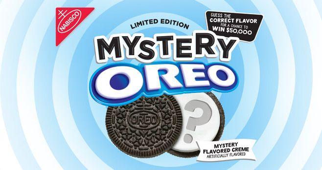 Mystery Oreo Flavor Contest 2017