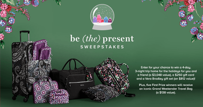 Vera Bradley's Be The Present Sweepstakes
