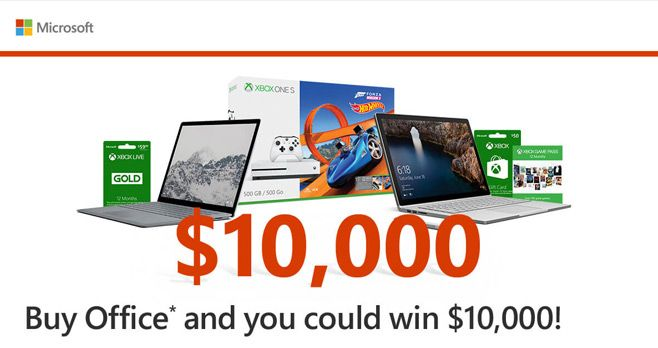 Wow. Win with Office Sweepstakes