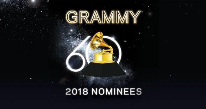 2018 GRAMMY Nominees Album Flyaway Sweepstakes