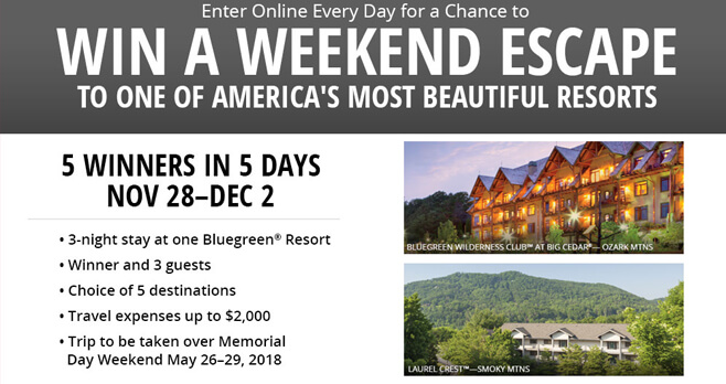 Bass Pro Shops Weekend Escape Sweepstakes