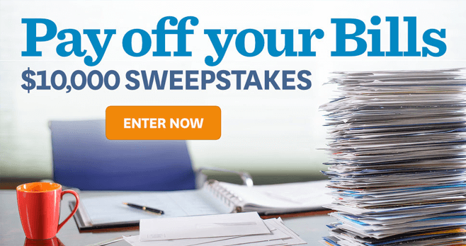 BHG Pay Off Your Bills Sweepstakes 2017