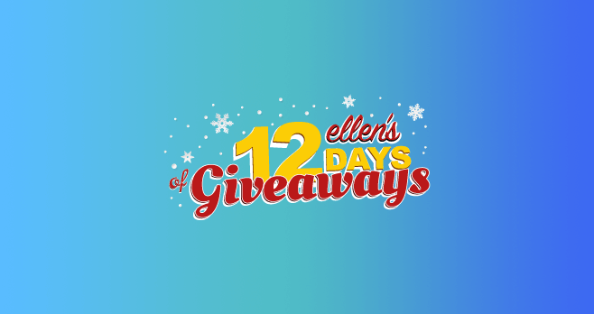 Ellen 12 days of giveaways 2019 day 1