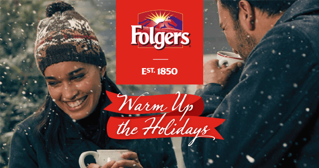 Folgers Warm Up The Holidays Sweepstakes 2017