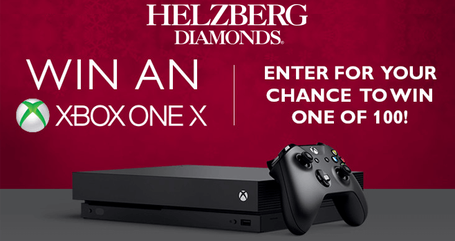 Helzberg Diamonds XBox One X Sweepstakes