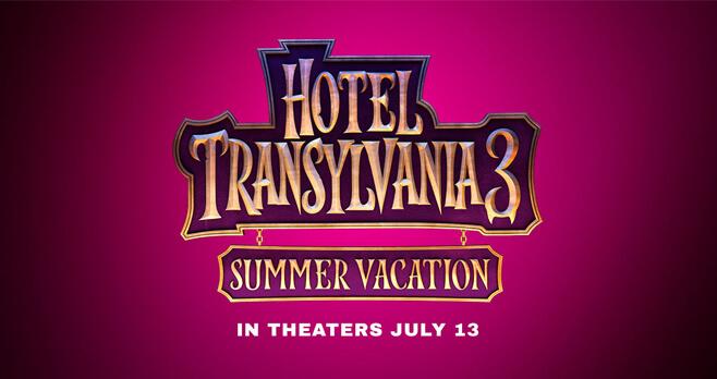 Hotel Transylvania 3 Summer Vacation Sweepstakes