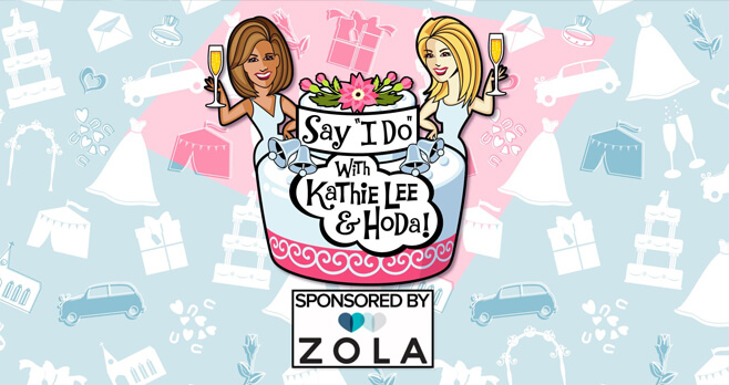 Kathie Lee and Hoda Say I Do Wedding Contest