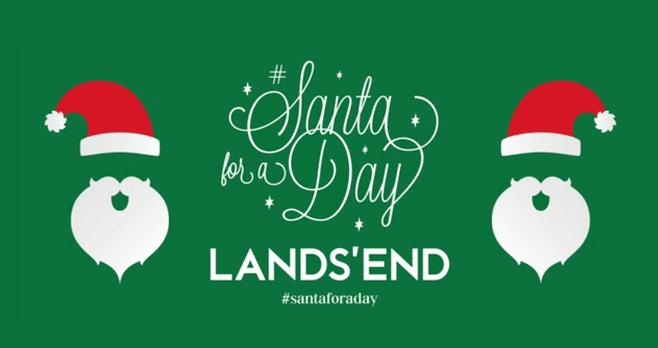 Lands' End Santa For A Day Sweepstakes 2017
