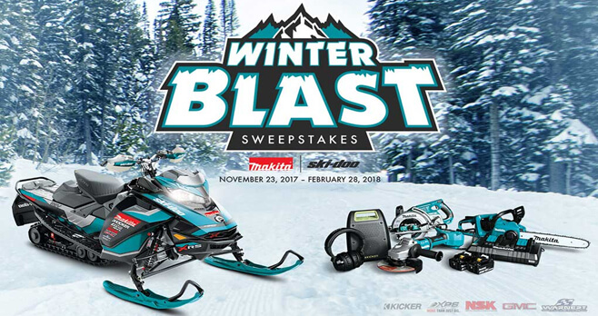 Makita Winter Blast Sweepstakes