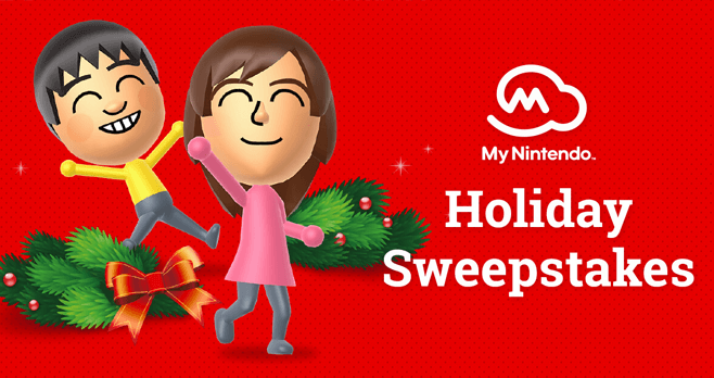 My Nintendo Holiday Sweepstakes 2017