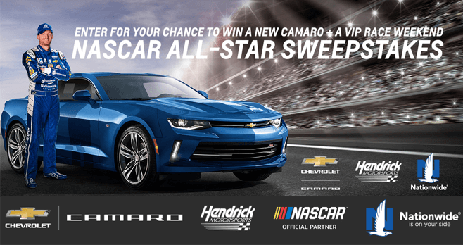 Chevy's Race To Win Camaro Sweepstakes 2017