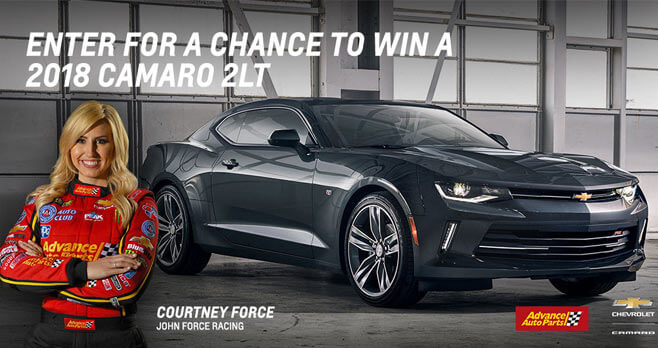 Race To Win Camaro Sweepstakes