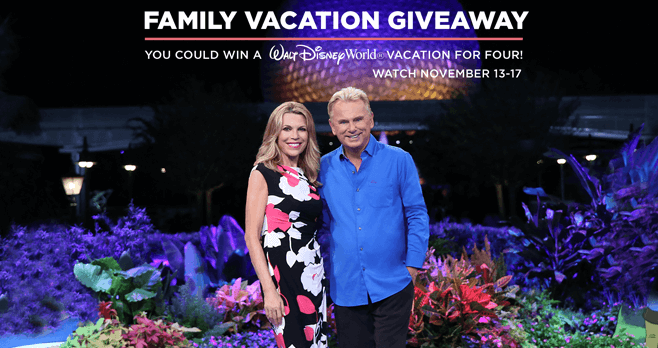 Wheel of Fortune Family Vacation Giveaway 2017