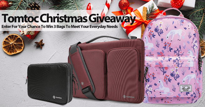 Tomtoc Christmas Giveaway