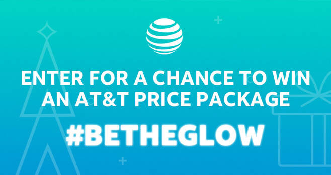 AT&T Season of Glow Sweepstakes