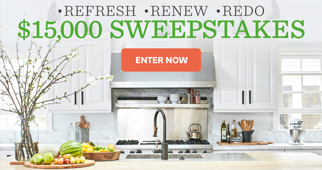 BHG $15,000 Sweepstakes 2018
