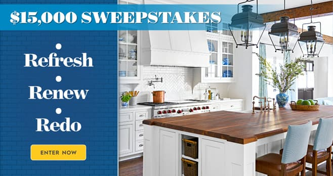 Better Homes and Gardens $15,000 Sweepstakes