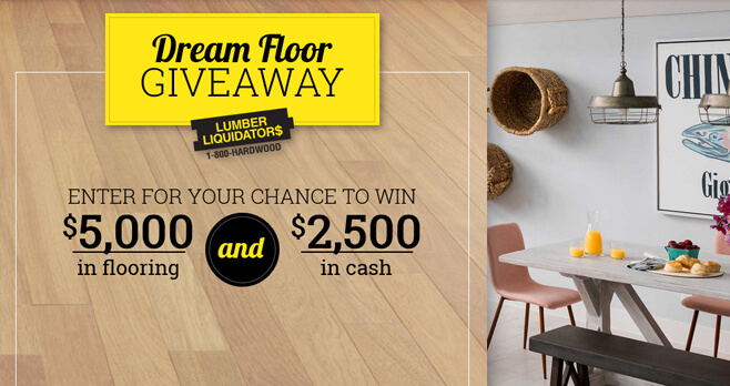 DIY Network Lumber Liquidators Dream Floor Giveaway 2018